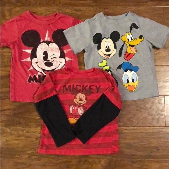 0d920bb07 Disney Shirts & Tops | Mickey Mouse 3 Pack | Poshmark